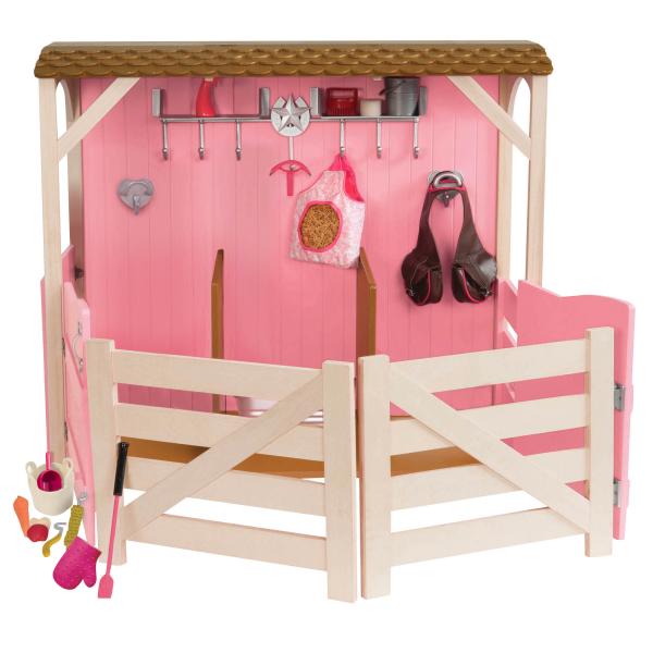 OG Pferdestall in rosa