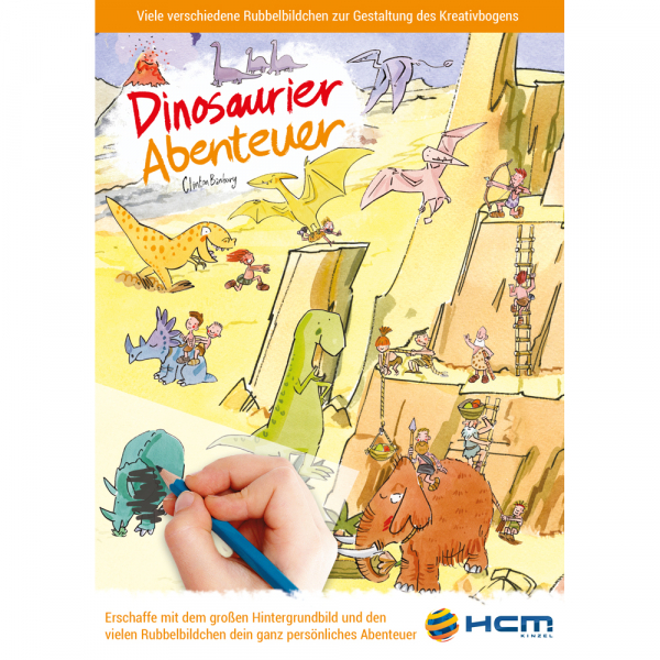 Scribble Down - Dinosaurier Abenteuer