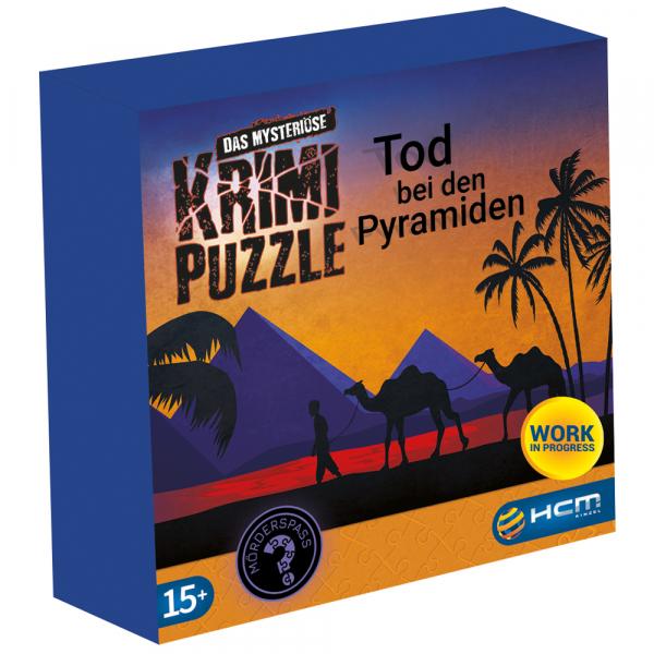 Tod bei den Pyramiden - Das mysteriöse Krimi Puzzle