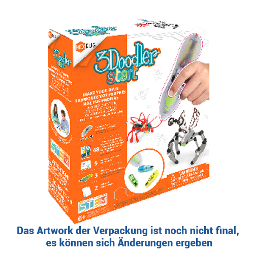3Doodler Make Your Own HEXBUG® Creature Pen Set