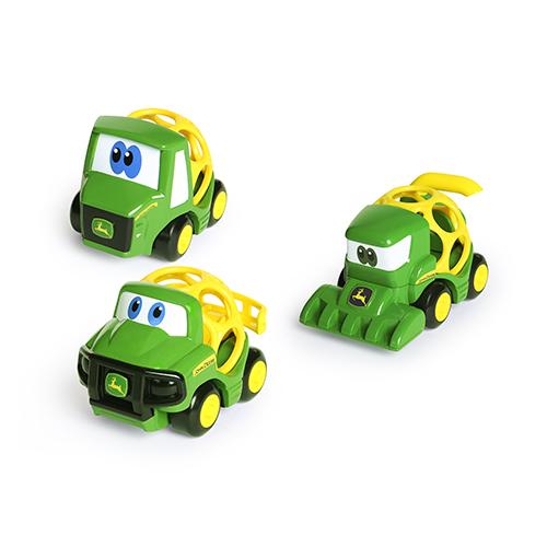 Oball Go Grippers John Deere Farm Fahrzeuge 3er Pack