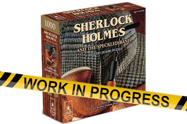 Sherlock Holmes - Murder Mystery Puzzle