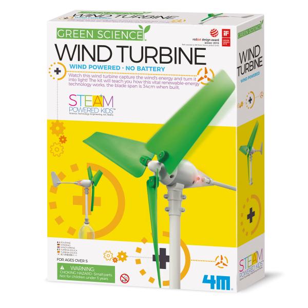 Wind Turbine Bastelset - Green Science