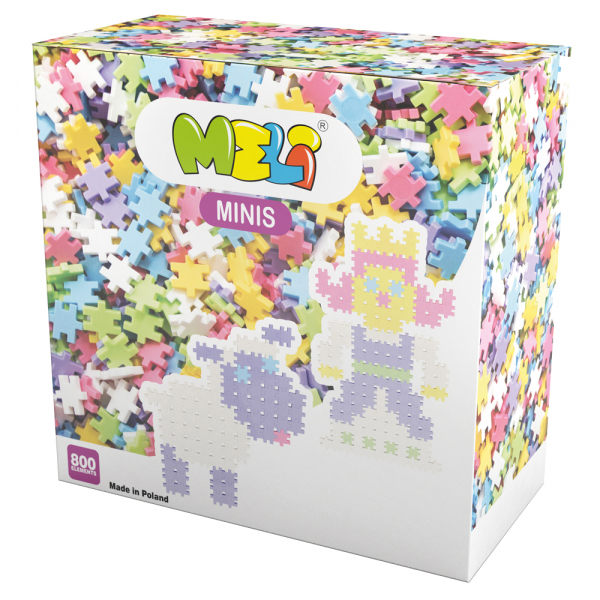 Meli Minis Pastel 800