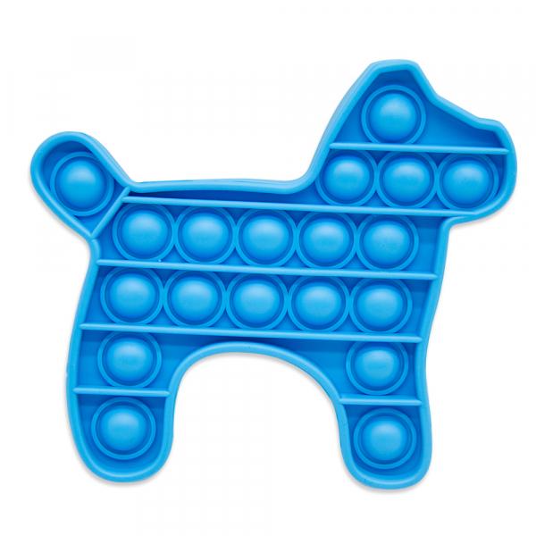 Bubble Fidget - Hund blau