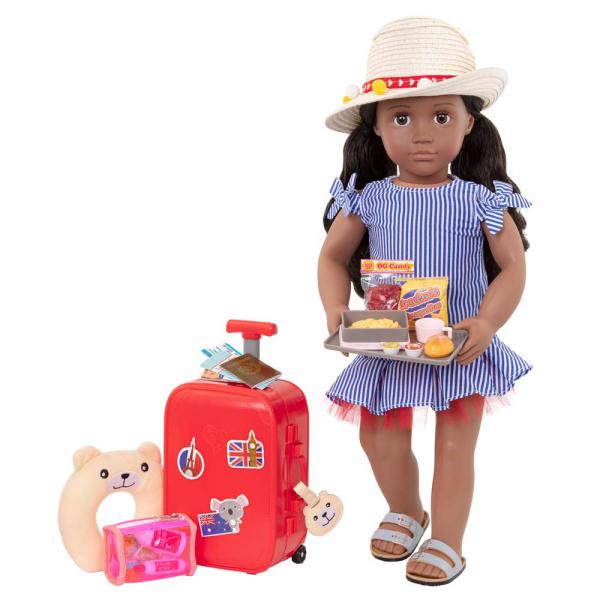 OG - Zubehör - Koffer Set mit Bärennackenkissen