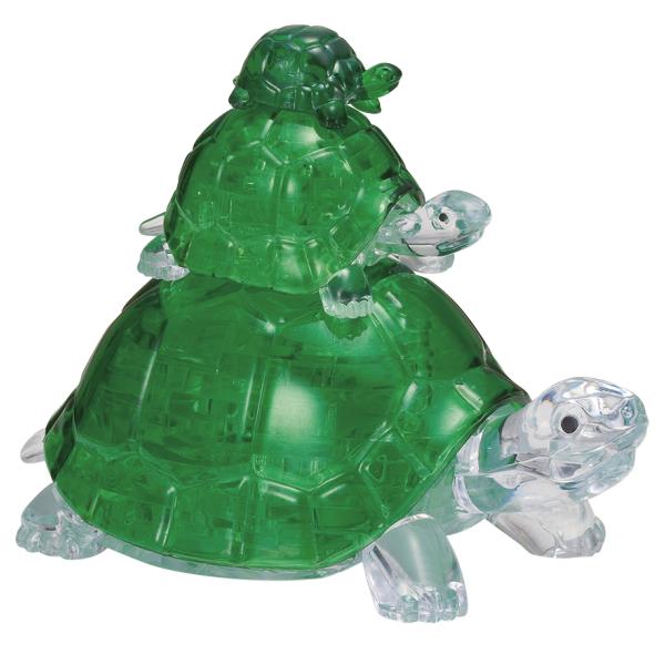 Crystal Puzzle - Schildkröten