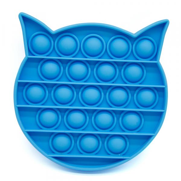 Bubble Fidget - Katze blau