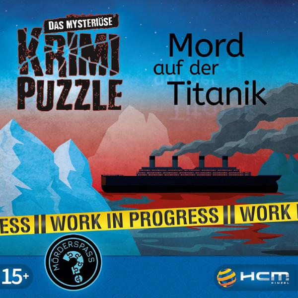 Mord auf der Titanic - Das mysteriöse Krimi Puzzle
