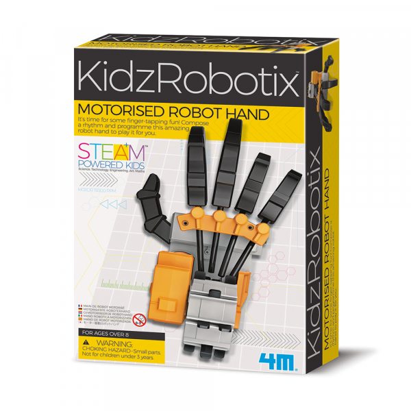 Motorisierte Roboter Hand - KidzRobotix