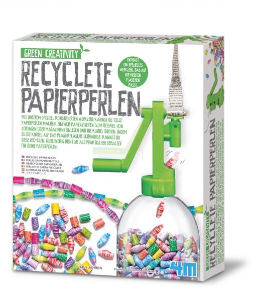 Recycelte Papierperlen - Green Creativity
