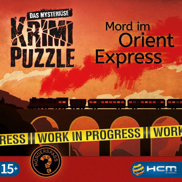 Mord im Orient Express - Das mysteriöse Krimi Puzzle