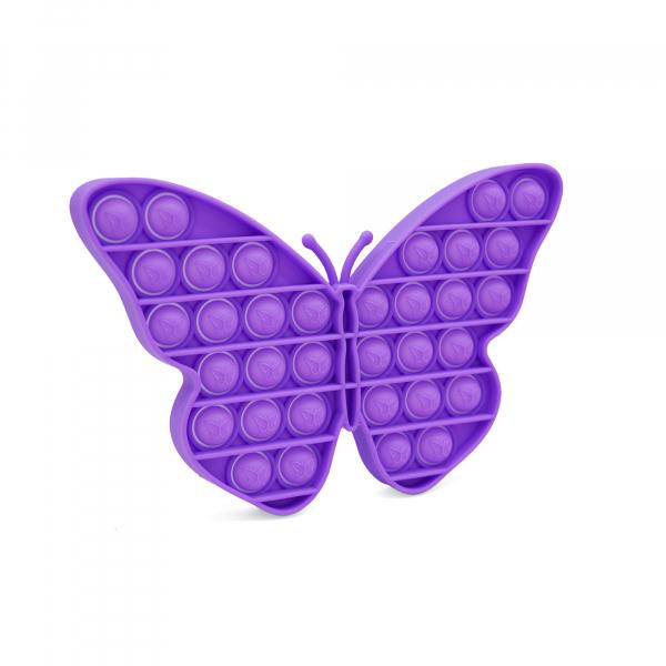 Bubble Fidget - Schmetterling purple