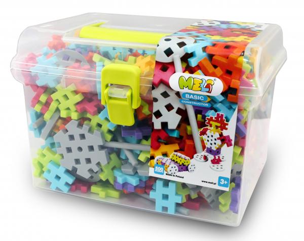 Meli Basic Constructor Travel Box 500