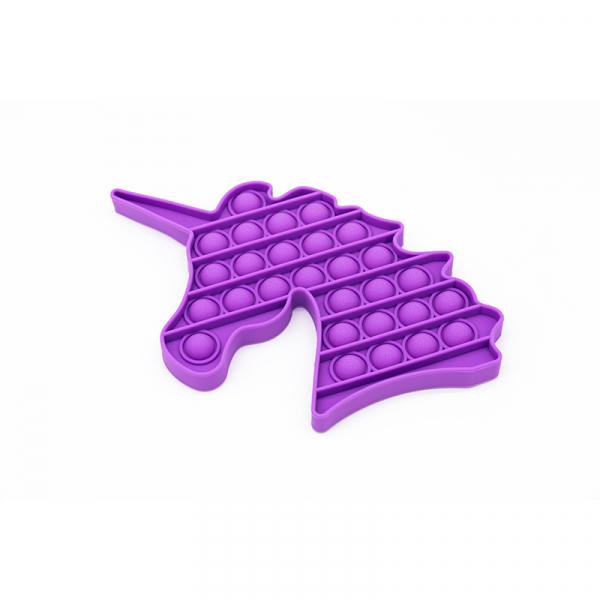Bubble Fidget - Einhorn purple