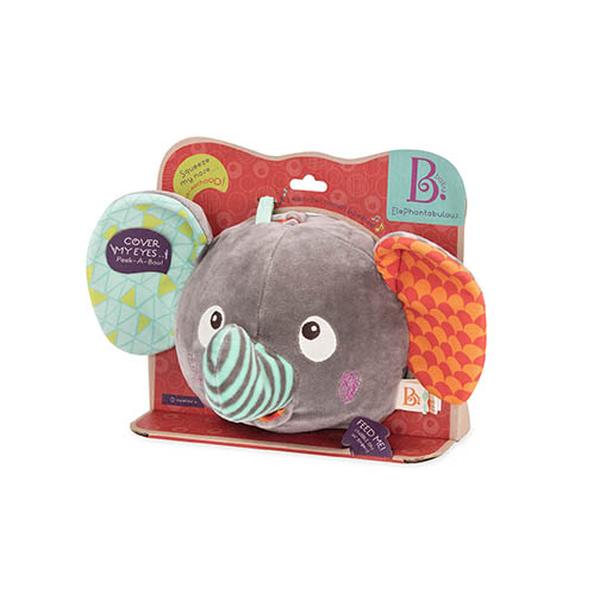 B. Funky Fabric Elephant Ball