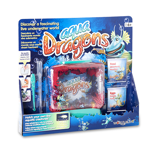 AQUA DRAGONS - Underwater World Boxed Kit