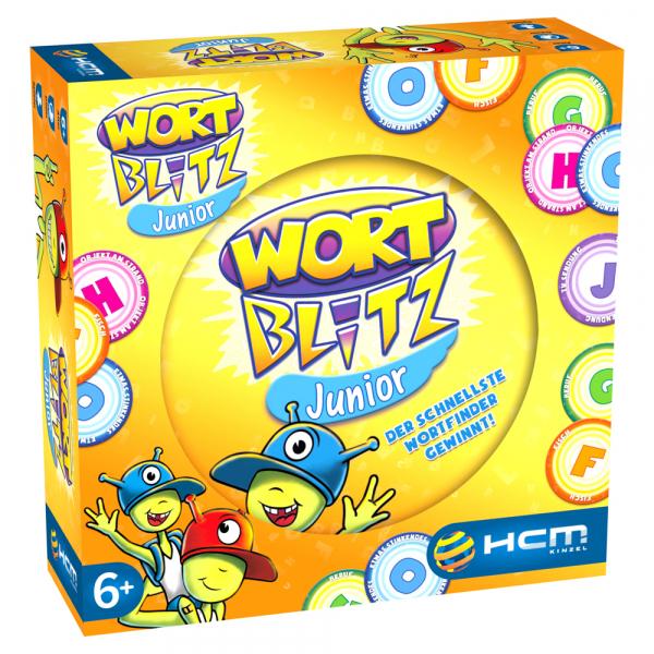 Wortblitz Junior Kartenspiel