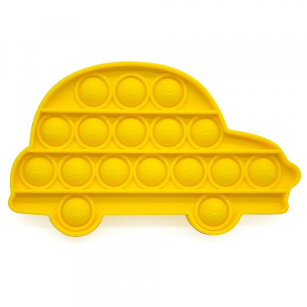 Bubble Fidget - Auto gelb