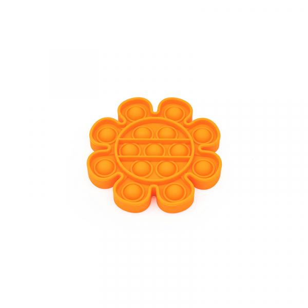 Bubble Fidget - Blume orange