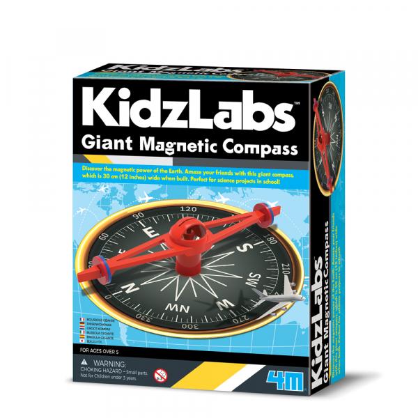 Riesen Magnet Kompass - KidzLabs