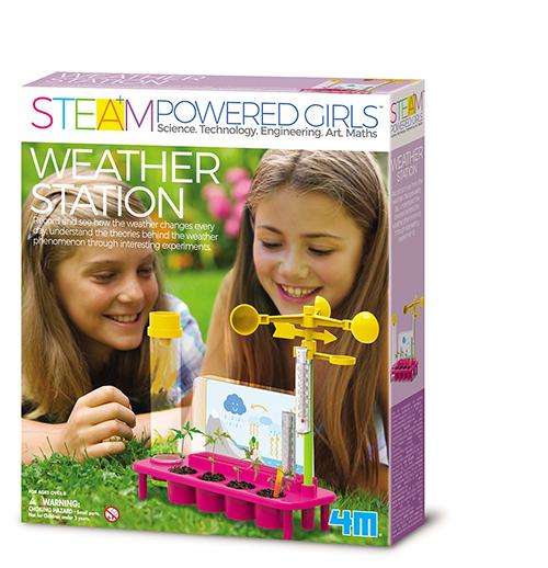 STEAM Powered Girls - Wetterstation