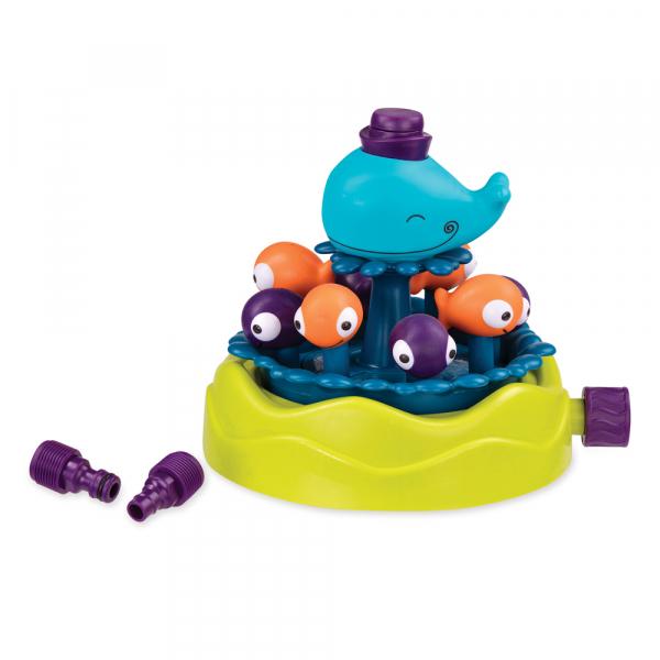 B. Whirly Whale Sprinkler - Wassersprinkler