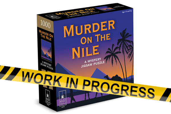 Murder on the Nile - Murder Mystery Puzzle