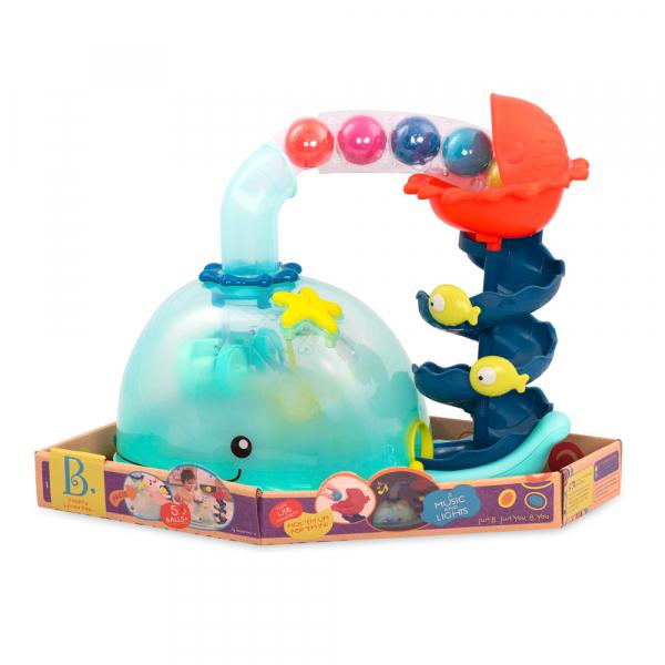 B. Wal Ballspielzeug mit Musik